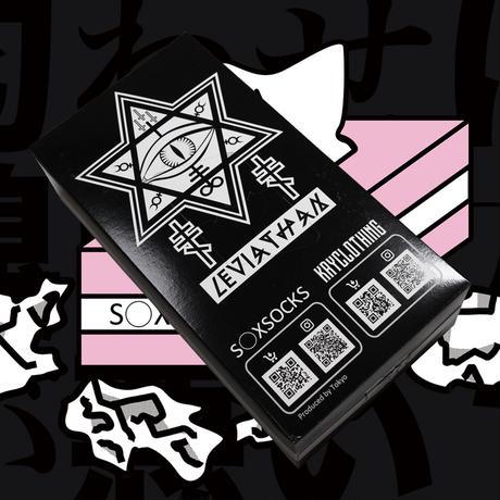 SAFE S◯X Tシャツ👁black/pink