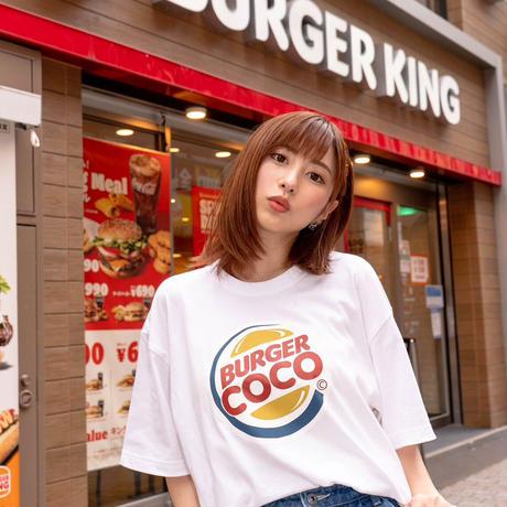 【大阪イベント限定】BURGER COCOTシャツ🍔white