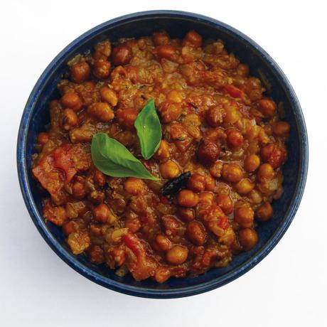 【辛口】黒ひよこ豆のワイルドカレー