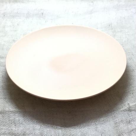 磁器素焼き皿 焼き上がり15cm   10枚一組