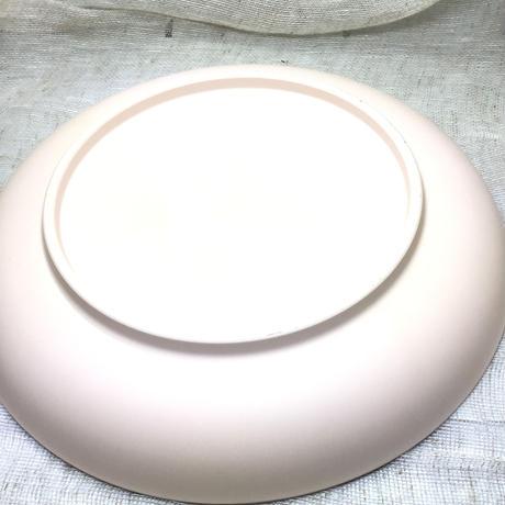 素焼き生地 平皿焼き上がり8寸