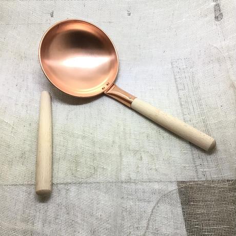 銅製カルメ焼き器