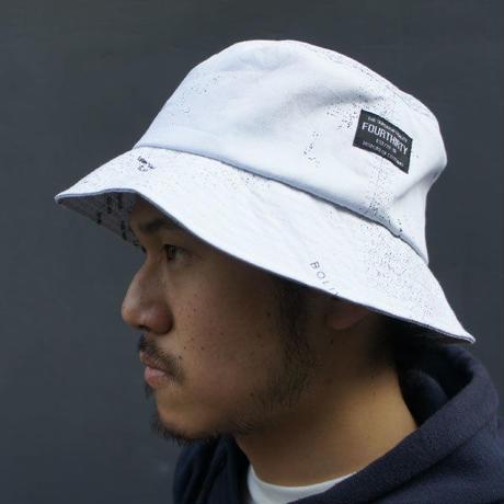 DOT MAP BUCKET HAT