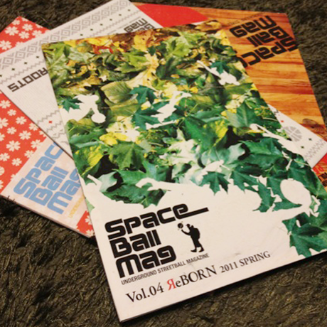 SpaceBall Mag Vol.1 to Vol.4