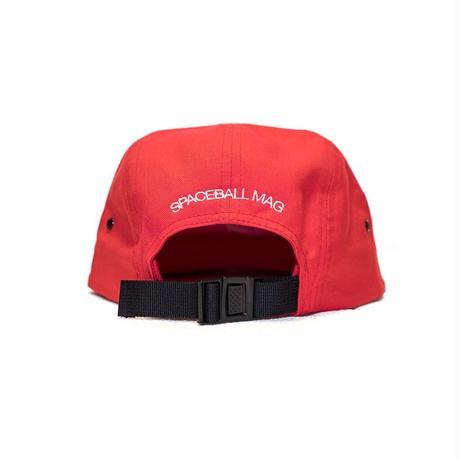 Space Apple Jockey Cap (Red / White)