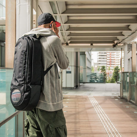"SpaceBall Mag × TACHIKARA ""CITY BALL PACK 001"" -black-"