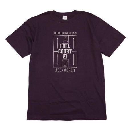 FULL COURT 21™ TOKYO GAME T-Shirts (Deep Purple / Grey)