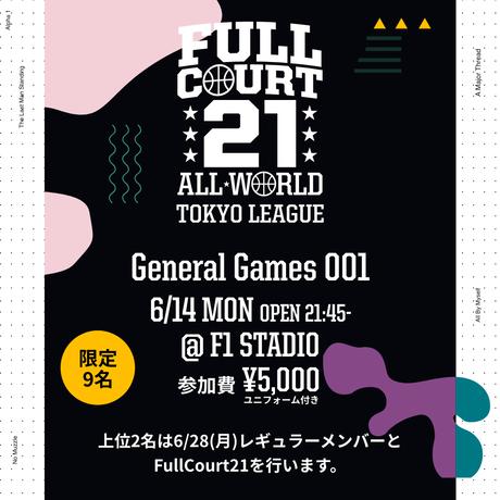 【6/14出場権】General Games 001