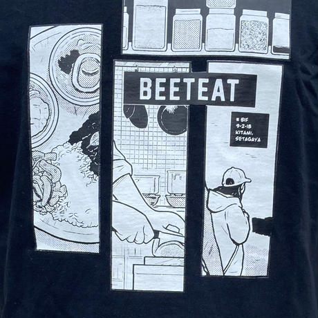 【beet eat】オリジナルTシャツ Illustration by Sanuki Naoya