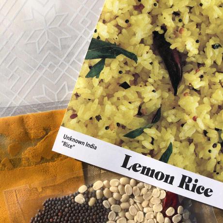 【UNKNOWN INDIA #RICE】レモンライススパイスセット×2個
