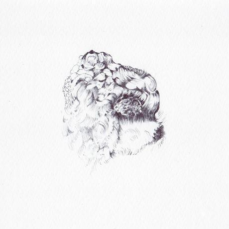 中村幸子「DOG 4」  原画