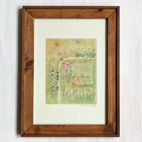 山田ミヤ「春の野原」