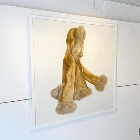 門川洋子「AM-Hooded Coat」(原画)