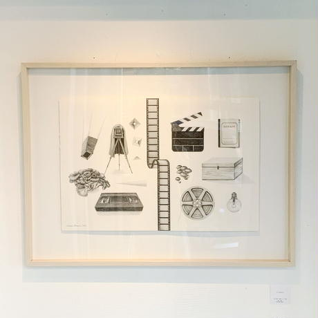 河井いづみ「うつすもの」  izumi kawai  原画