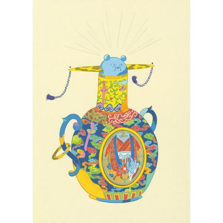 藤本巧「僵尸壺」原画