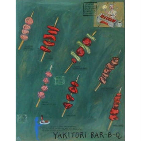 河村要助「YAKITORI BAR-B-Q」 yosuke kawamura