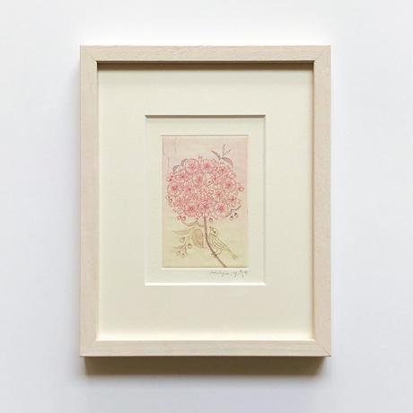 山田ミヤ「桜の蜜をすってたら、いつのまにか、かくれんぼ」