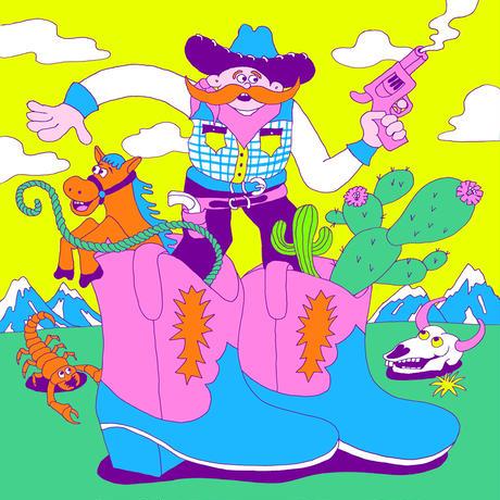山崎若菜「Cowboy boots」ジークレー版画 yamazaki wakana