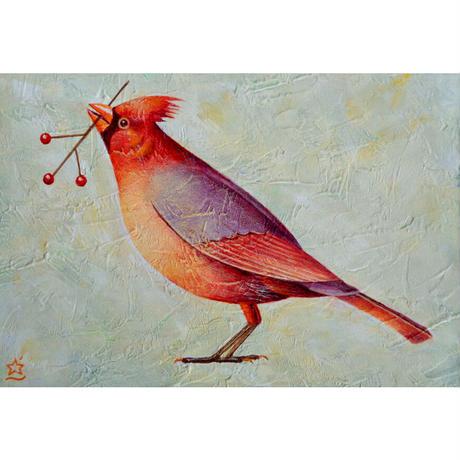 星野哲朗「a little bird」原画作品
