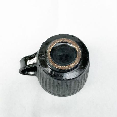 高橋春夫「黒釉マグカップ」