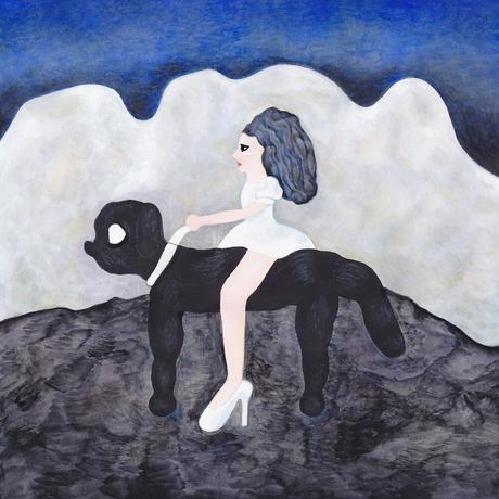 中村幸子「青い空」原画作品