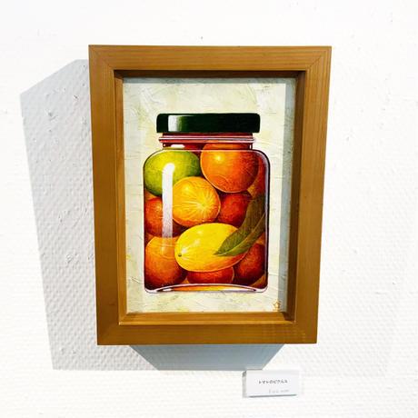 星野哲朗「トマトのピクルス」原画作品