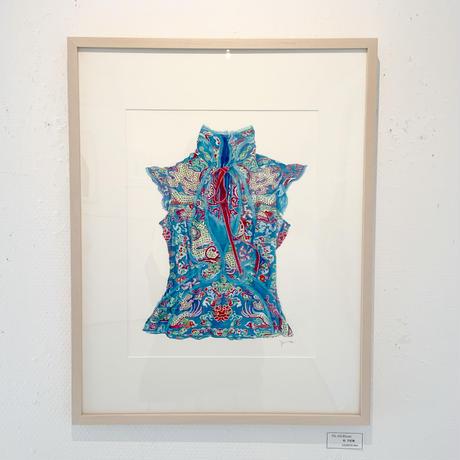 門川洋子「YSL-Silk Blouse」(原画)