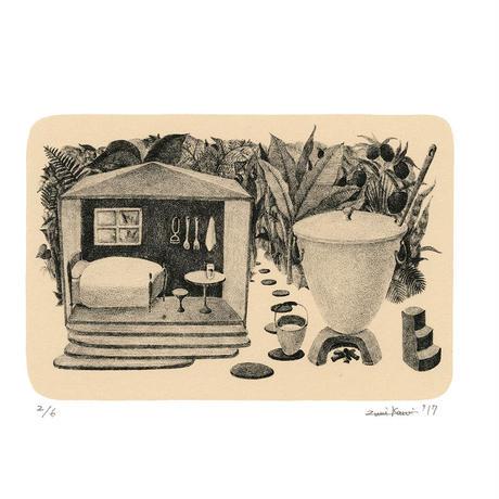河井いづみ「ジュースの家」
