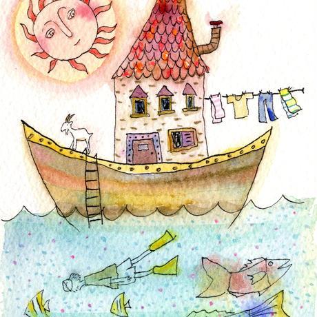 はんまけいこ「SEA HOUSE 太陽」