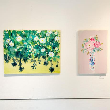 小池アミイゴ「花束」原画