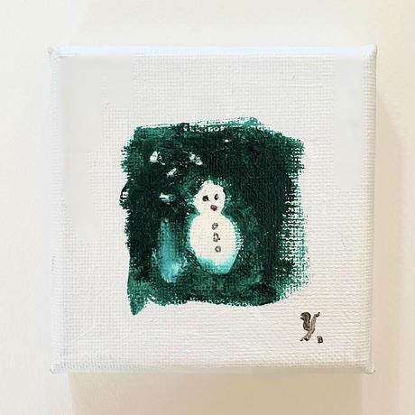 yoshiko abe「2.雪だるま」