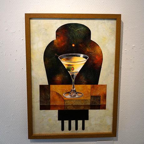 星野哲朗「Jazz bar」hoshino tetsuro(原画)
