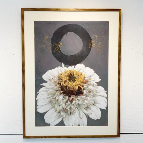 深谷良一「白い花」