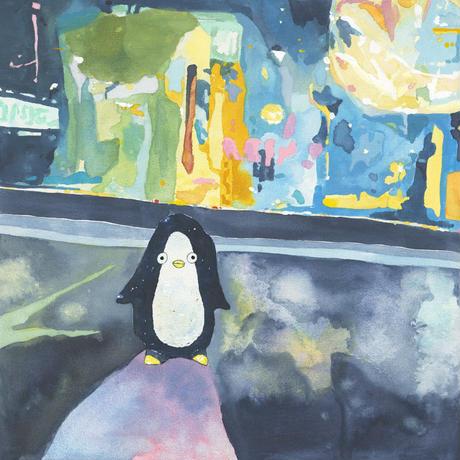 藤本巧「ペンギンブルース」原画