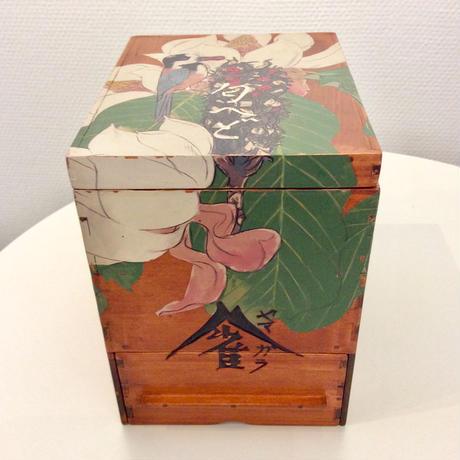 深谷良一作品「ヤマガラ 木箱」