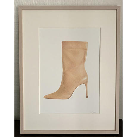 門川洋子「Z-Leather Boots」(原画)