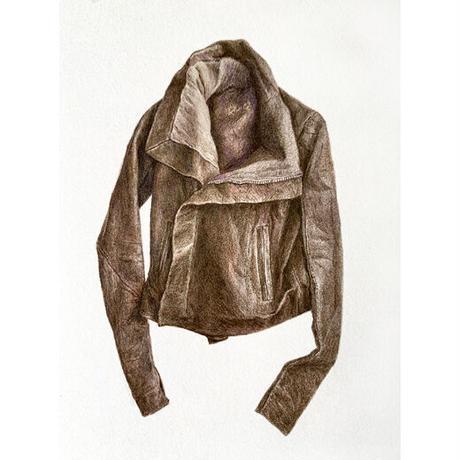 門川洋子「RO-Leather Jacket」(原画)
