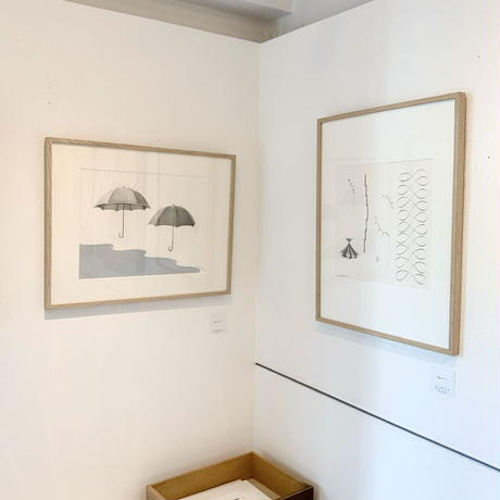 河井いづみ「意識のリボン」  izumi kawai  原画