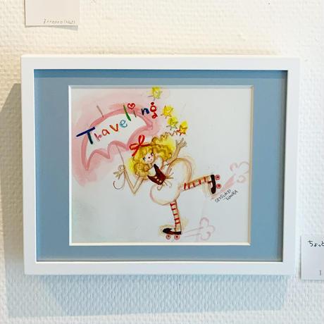田村セツコ「ちょっとそこまで」原画  tamura setsuko