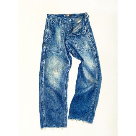 門川洋子「JA+U-Denim Pants」(原画)
