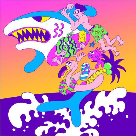 山崎若菜「SHARK ATTACK」yamazaki wakana