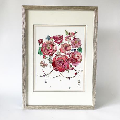 長谷川洋子「Les roses」
