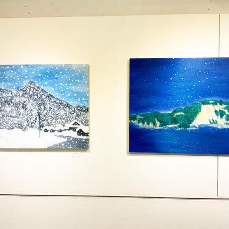 小池アミイゴ「神津島」原画
