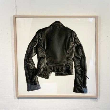 門川洋子「B-Leather Jacket」(原画)