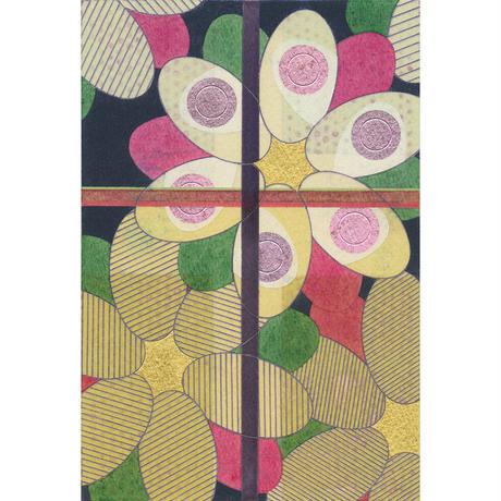 卯月俊光「花と格子 #11」  原画作品