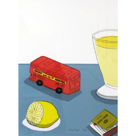 安西水丸「レモネード」  mizumaru anzai