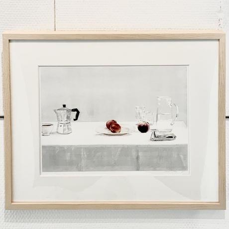 荻原美里「Landscape with peaches」ogihara misato
