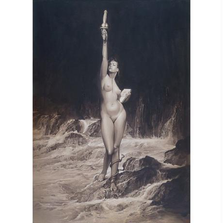 Hajime Sorayama Giclee Print #shw001