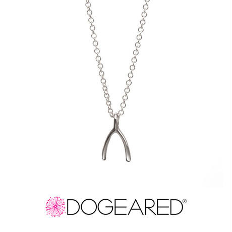 Dogeared ドギャード【Dogeared 【Dream, Teeny Wishbone Necklace 】sterling silver