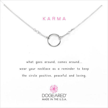 Dogeared ドギャード【K1S-S100-100000】オリジナルカルマネックレス sterling silver